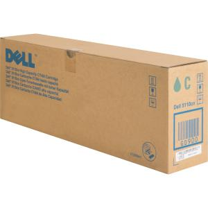 Dell High Capacity Toner Cartridge - Laser - 12000 Page - Cyan