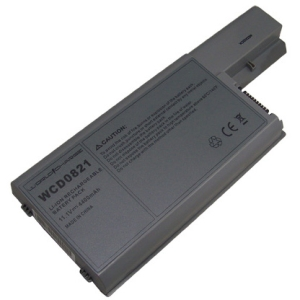 WorldCharge Li-Ion 11.1V DC Battery for Dell Laptop - 4800 mAh - Lithium Ion (Li-Ion) - 11.1 V DC