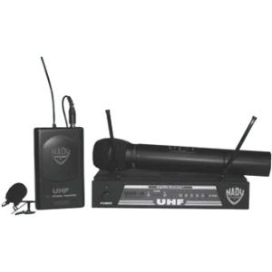 Nady UHF-4 Channel 15 DigiTRU Diversity Wireless Microphone System