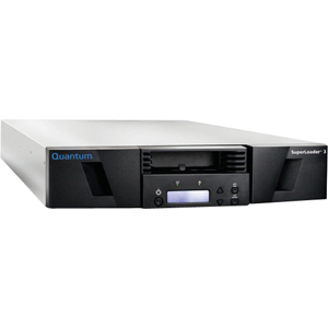 Quantum SuperLoader 3 EC-LLHAE-YF LTO Ultrium 5 Tape Library - 1 x Drive/8 x Slot - LTO Ultrium 5 - 12 TB (Native) / 24 TB (Compressed) - Serial Attached SCSI (SAS)