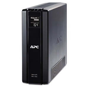 APC Back-UPS BR1500G 1500 VA Tower UPS - 1.50 kVA/865 WTower 0.05 Hour Full Load - 5 x NEMA 5-15R - Battery Backup System, 5 x NEMA 5-15R - Surge-protected