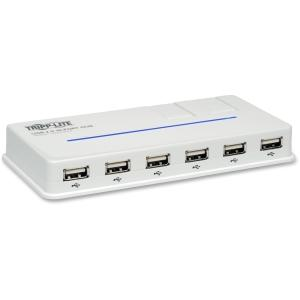 Tripp Lite U222-010-R 10-port USB 2.0 Hub - 10 x 4-pin Type A Female USB 2.0 USB, 5-pin Mini USB - Type B Female USB - External