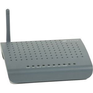 Zhone 1518-A1-NA Wireless Modem/Router - IEEE 802.11b/g - ISM Band - 54 Mbps Wireless Speed - 4 x Network Port