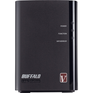 Buffalo LinkStation Pro Duo LS-WV2.0TL/R1 Network Storage Server - 1.60 GHz - 2 TB (2 x 1 TB) - RJ-45 Network, Type A USB