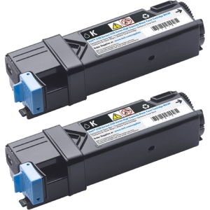 Dell 899WG Toner Cartridge - Black - Laser - 6000 Page - 2 Pack