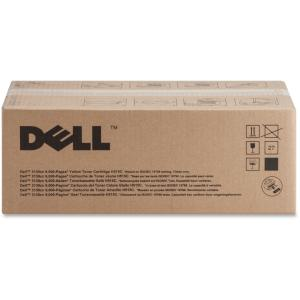 Dell H515C Toner Cartridge - Yellow - Laser - 9000 Page - 1 Pack