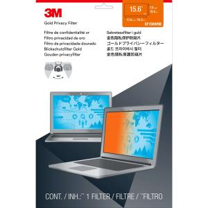 "3M GPF15.6W Gold Widescreen Notebook Privacy Filter (16:9) - 15.6"" LCD"