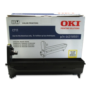 Oki Imaging Drum Unit - LED Imaging Drum - Yellow - 20000 Page