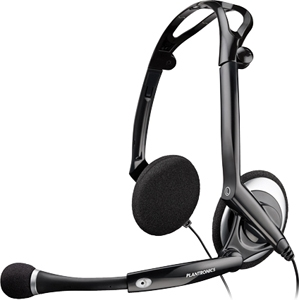 Plantronics .Audio 400 Headset - Stereo - USB - Wired - Over-the-head - Binaural - Semi-open