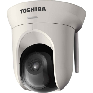 Toshiba IK-WB16A-W Network Camera - Color - 2x Optical - CMOS - Wireless - Wi-Fi