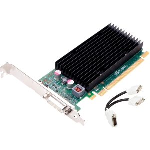 PNY VCNVS300X16-PB Quadro 300 Graphic Card - 512 MB DDR3 SDRAM - PCI Express 2.0 x16 - 2048 x 1536 - DVI