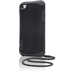 Belkin Grip Ergo F8Z653TT Carrying Case for iPod - Black - Textured