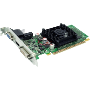 EVGA 01G-P3-1312-LR GeForce 210 Graphic Card - 520 MHz Core - 1 GB DDR3 SDRAM - PCI Express 2.0 x16 - 600 MHz Memory Clock - 2560 x 1600 - HDMI - DVI - VGA