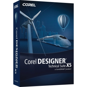 Corel DESIGNER Technical Suite v.X5 - Upgrade Package - 1 User - CAD - Standard Mini Box Retail - PC - English