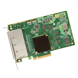 LSI Logic 9201-16e 16-port SAS Controller - Serial Attached SCSI (SAS), Serial ATA/600 - PCI Express 2.0 x8 - Plug-in Card