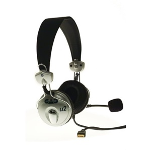 CAD U2 USB Stereo Headset - Wired Connectivity - Stereo - Over-the-head