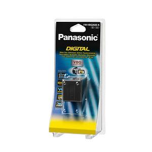 Panasonic VW-VBG260 Lithium Ion Camcorder Battery - Lithium Ion (Li-Ion) - 7.2V DC