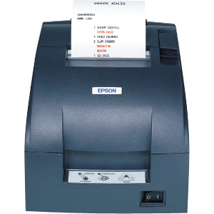 Epson TM-T90 Direct Thermal Printer - Monochrome - Receipt Print - 6.69 in/s Mono - 180 x 180 dpi - Ethernet