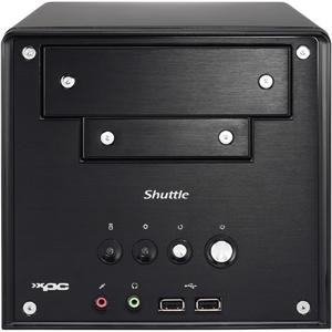 Shuttle XPC SA76G2 Barebone System - AMD 760G - Socket AM2+ - Sempron), Athlon 64), Athlon 64 X2 (Dual-core), Phenom), Phenom II) - 8GB Memory Support - Gigabit