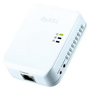 Zyxel PLA-401 v3 Powerline Ethernet Kit - 1 x 10/100Base-TX Network, 1 x Powerline - 200Mbps