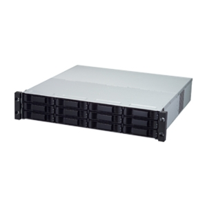 Promise VessRAID 1830s DAS Array - 8 x HDD Installed - 16 TB Installed HDD Capacity - RAID Supported - 12 x Total Bays - Network (RJ-45) - USB - 2U Rack-mountable