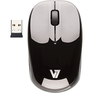 V7 M32N00-7N Mouse - USB - Black