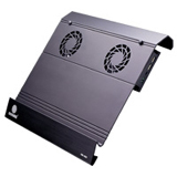 Coolmax NB-400 Laptop Cooler - 2 Fan(s) - 2500rpm - Aluminum
