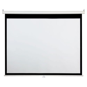"Draper AccuScreen Manual Projection Screen - 49"" x 87"" - Matte White - 100"" Diagonal"