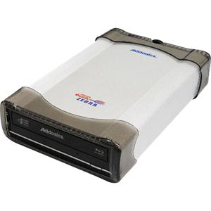 Addonics Blu-ray Writer - External Double-layer - BD-R/RE - 10x 2x 10x (BD) - 16x 8x 16x (DVD) - 48x 24x 48x (CD) - USB, External SATA