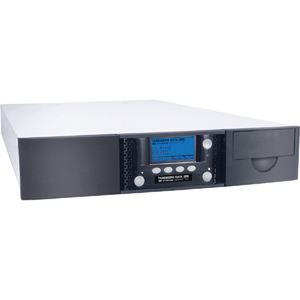 Tandberg Data StorageLibrary T24 Tape Library - 1 x Drive/12 x Slot - LTO Ultrium 5 - 18 TB (Native) / 36 TB (Compressed) - Serial Attached SCSI (SAS)
