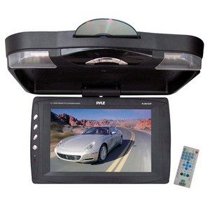 Pyle PLRD133F Car Video Player - 12.1&quot; Active Matrix TFT LCD - PAL, NTSC - DVD-R, CD-RW - DVD Video, MP3