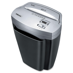 Fellowes Powershred W11C Cross-Cut Shredder - Cross Cut - 11 Per Pass - 4.75 gal Waste Capacity