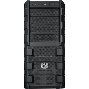 Cooler Master HAF 912 RC-912-KKN1 Chassis - Mid-tower - Black - Steel, Plastic - 10 x Bay - 2 x Fan