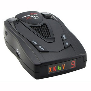 Whistler XTR-335 Radar/Laser Detector - X-band, K-band, Ka Superwide, Ka Band, Laser - VG-2 Alert, VG-2 Immunity - City, Highway - 360° Detection