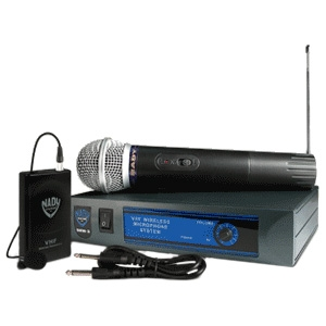 Nady DKW-3 Channel D Wireless Microphone System