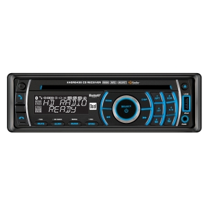 Dual XHDR6435 Car CD Player - 240 W RMS - iPod/iPhone Compatible - Single DIN - AM, FM - USB - Auxiliary Input - Detachable Front Panel