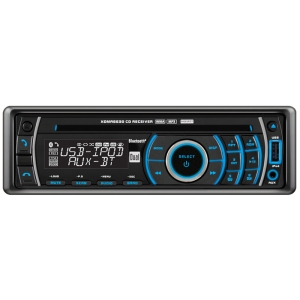 Dual XDMA6630 Car CD Player - 240 W RMS - iPod/iPhone Compatible - Single DIN - AM, FM - Bluetooth - USB - Auxiliary Input - Detachable Front Panel