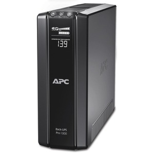 APC Back-UPS RS BR1500GI 1500VA Tower UPS - 1.50 kVA/865 WTower 0.10 Hour