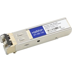 AddOn - Network Upgrades Juniper EX-SFP-1GE-SX Compatible 1000Base-SX SFP - 1 x 1000Base-SX