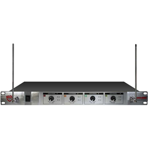 Nady 401X Quad Wireless Microphone System  with Frequencies A/B/D/N, 171.905MHz, 185.15MHz, 209.15MHz, 197.15MHz