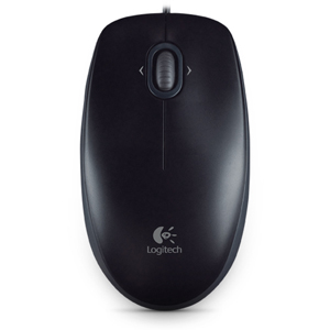 Logitech B120 Mouse - Optical - Cable - OEM - USB, PS/2 - 800 dpi - Tilt Wheel - 3 Button(s) - Symmetrical