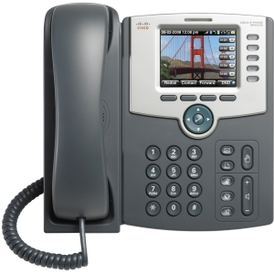 Cisco SPA525G2 IP Phone - Wireless - 5 x Total Line - VoIP - IEEE 802.11b/g - Caller ID - PoE Ports