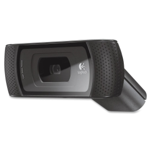 Logitech B910 Webcam - 5 Megapixel - USB 2.0 - 1280 x 720 Video