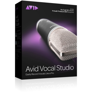 Avid Vocal Studio - 1 User Music Editing/Composing - Complete Product - Standard - Retail - PC, Intel-based Mac