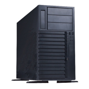 Chenbro SR107 Chassis - Tower - Steel - 24 x Bay - 3 x Fan