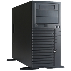 Chenbro SR209 Chassis - Tower - Black - Steel - 14 x Bay - 2 x Fan