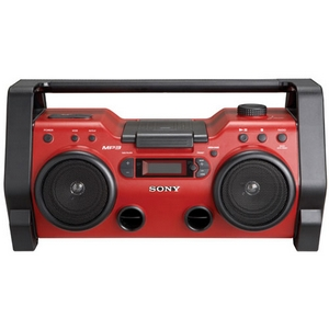 Sony ZSH10CP Radio/CD/MP3 Player Boombox - LCD - 108 MHz