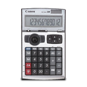 Canon 3-in-1 DK-1000i II 12-Digit USB Calculator (Trackball, Numeric Keypad & Desktop Calculator)