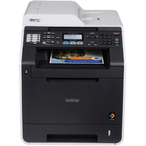 Brother MFC-9560CDW Laser Multifunction Printer - Color - Plain Paper Print - Desktop - Printer, Copier, Scanner, Fax - 25 ppm Mono/25 ppm Color Print - 2400 x 600 dpi Print - 25 cpm Mono/25 cpm Color Copy LCD - 1200 dpi Optical Scan - Automatic Duplex Pr