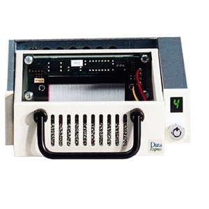 "CRU Data Express 100 SCSI Removable HDD Enclosure - 1 x 3.5"" - 1/3H Internal - Internal - White"